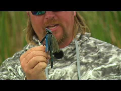 Catch An ABSOLUTE HOG - Bass Fishing A Grass Jig