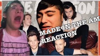 One Direction - Made in the A.M. Album REACTION