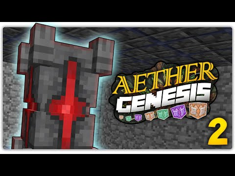 THE MYSTERIOUS ANCIENT TOTEM | Minecraft Aether GENESIS #2 Custom Command World