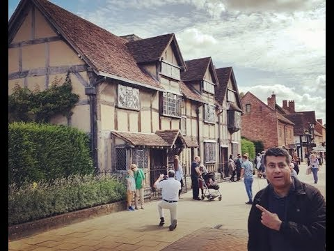 William  Shakespeare Birthplace & Family Home !!!