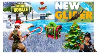 NOUVEAU GLIDER, BATTLE PASS, NEW WEAPON Fortnite Battle Royale Winter Update - (Fortnite Gameplay)