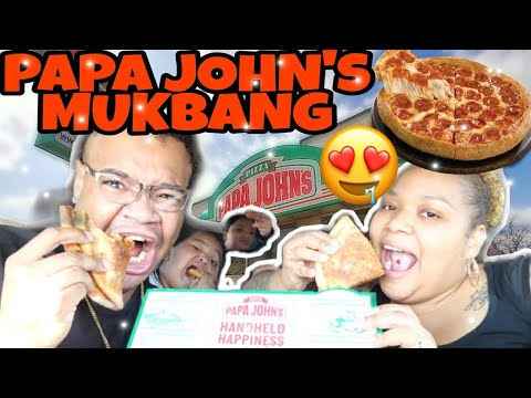 NEW PAPA JOHN'S PAPADIAS QUARANTINE CARBANG #withme