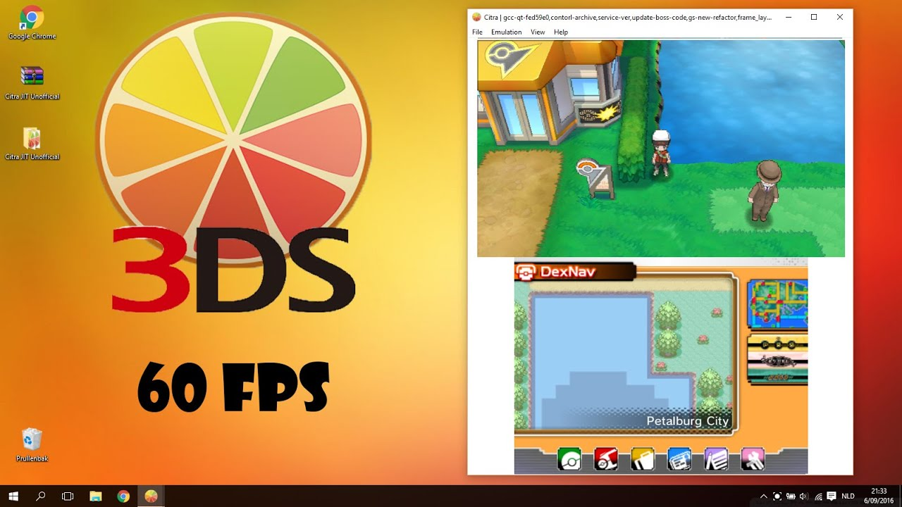 Citra 3DS Emulator CPU JIT Build: Full Speed (60fps ...