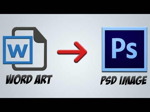 How To Convert Any Word Or PDF File Into Photoshop File Or Image