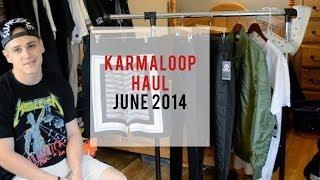 Karmaloop Haul - June 2014 Thumbnail