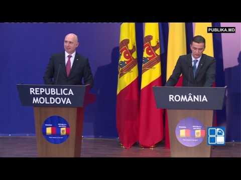 Guvernele de la Chișinău și București s-au întrunit într-o ședință comună.