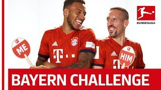 Tolisso and Ribery on Swag, Dance Moves & More - Me or Him Challenge