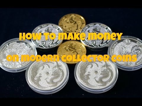 How To Make Money On Modern Collector Coins