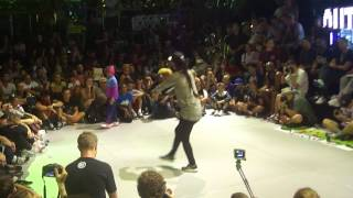 Outbreak 2015 == Tera vs Jilou == Semi Final Bgirl Battle