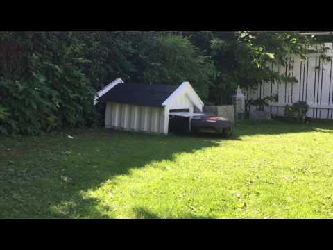 husqvarna automower bau einer garage doovi. Black Bedroom Furniture Sets. Home Design Ideas
