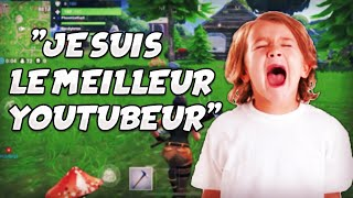 Un NOOB se prend pour SQUEEZIE et CLASH sur Fortnite Battle Royale