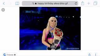 Happy 27th birthday Alexa bliss