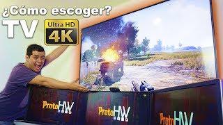 ¿Apesta o vale la pena jugar en TV 4k? | Cómo escoger y configurar TV 4k para juegos | | Proto HW