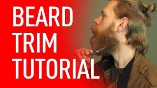 How to Get a Beard Trim | Eric Bandholz