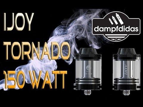 Ijoy Tornado 150 Watt Beastmode Verdampfer Tank Deutsch Review
