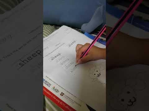 Writing skill my son :)