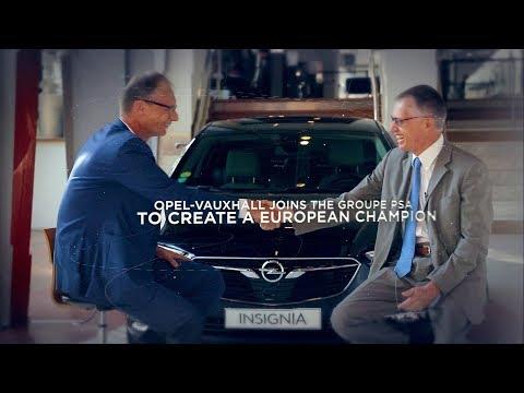 Opel-Vauxhall Joins PSA Peugeot Citroen