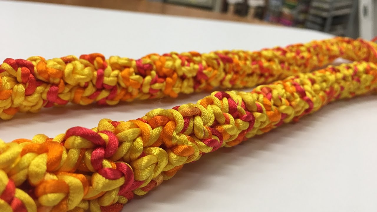 Crankin Out Crafts Ep515 Rattail Lei Youtube