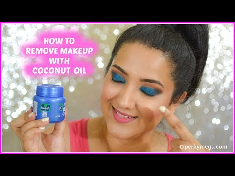 43effe4bdbb How to Remove makeup with coconut oil   natural and quick way   Perkymegs -  YouTube