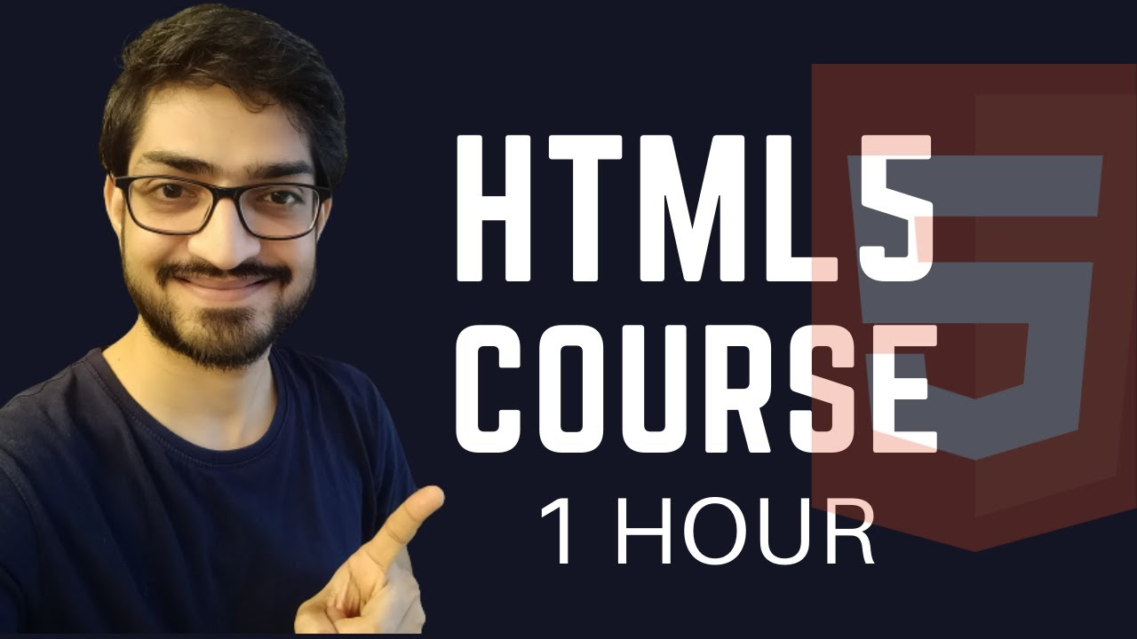 HTML5 Crash Course for Absolute Beginners [Tutorial]