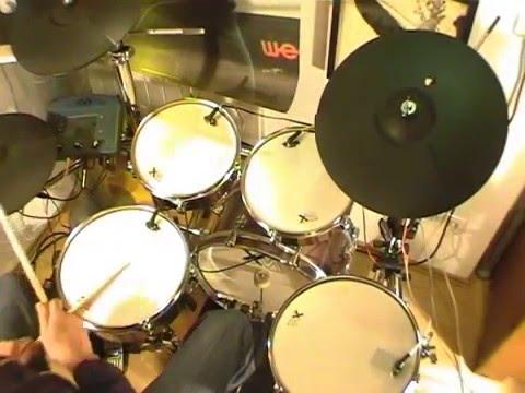 Badge Drumcover - meine Version auf XM-E-Drum