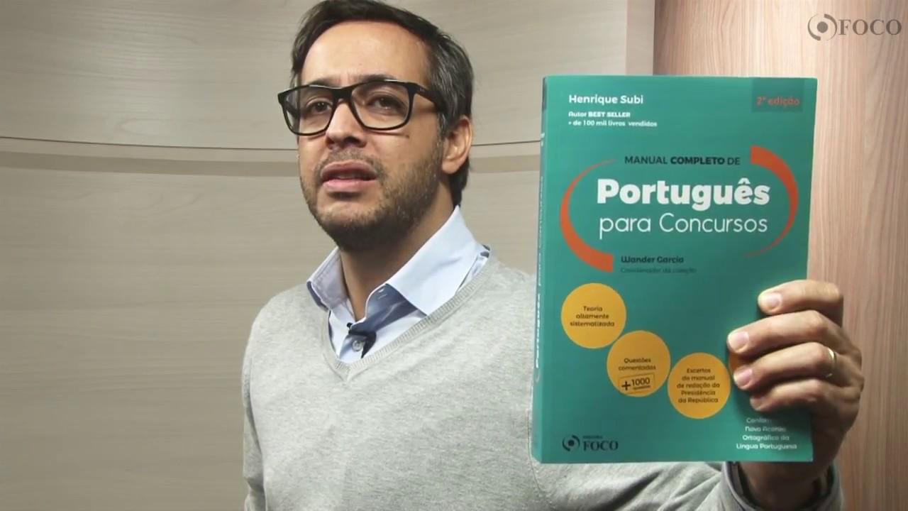 Manual Completo De Portugues Para Concursos Pdf