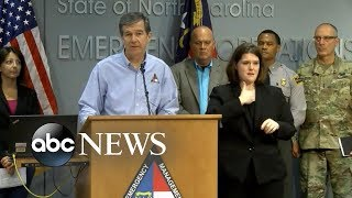 North Carolinians will not quit in the face of a challenge: NC governor