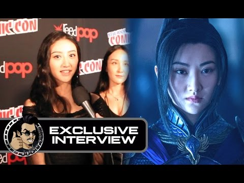 Tian Jing Interview for THE GREAT WALL (Exclusive) #NYCC2016