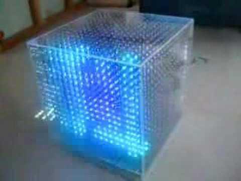 3D LED Cube (三维显示器)