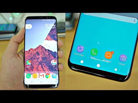 Samsung Galaxy S8 Android O LOOK!!!