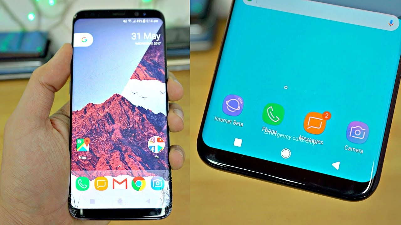 Samsung Youtube - Look Android Galaxy O S8