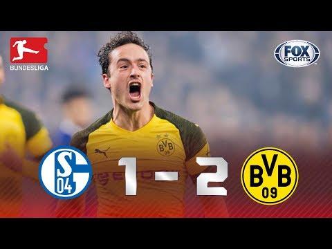Schalke 04 - Borussia Dortmund [1-2] | GOLES | Jornada 14 | Bundesliga