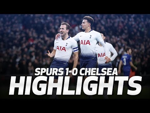 HIGHLIGHTS | SPURS 1-0 CHELSEA | Carabao Cup semi-final first leg