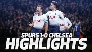 HIGHLIGHTS | SPURS 1-0 CHELSEA | Carabao Cup semi-final first leg