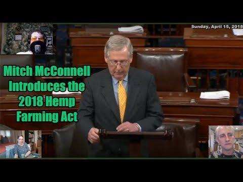 Mitch McConnell Drops 2018 Hemp Farm Bill