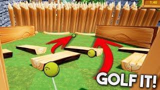 OMG! EL QUE TENGA SUERTE GANA! QUIEN SERA? Golf It
