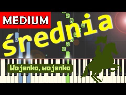 🎹 Wojenko, Wojenko - Piano Tutorial (średnia wersja) 🎹