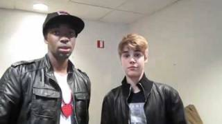 Justin Bieber with a brillant impersonator thumbnail