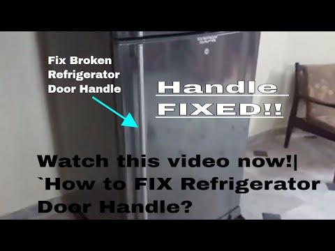 How To Fix Refrigerator Door Handle - Dawlance Refrigerator