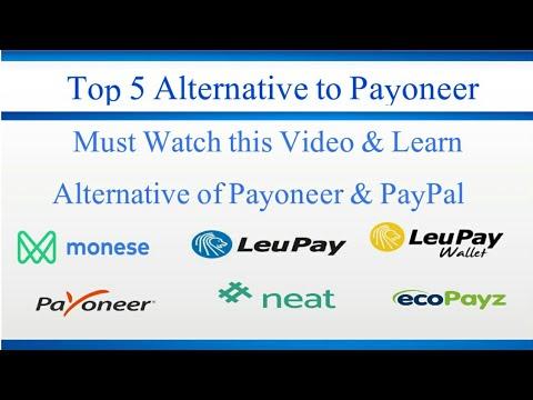top 5 alternative payoneer paypal youtube