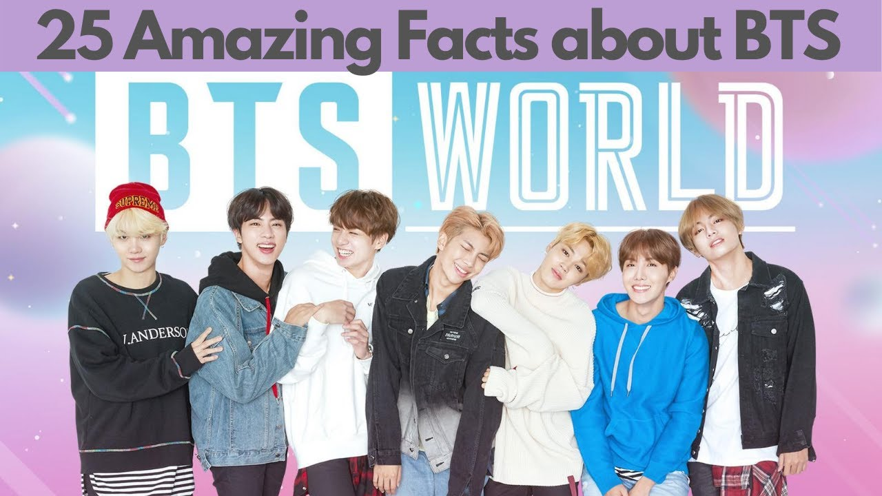 25 Amazing Facts about BTS