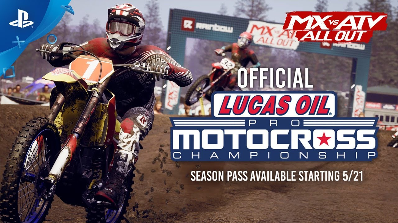 MX vs ATV All Out - 2020 AMA Pro Motocross Championship DLC | PS4