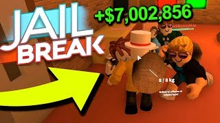 ROBBING NEW JAILBREAK MUSEUM AS MUCH AS POSSIBLE