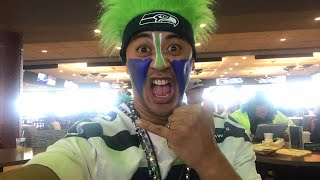 Fan Reaction: Seahawks vs Browns or 1 (NorbCam reacts)