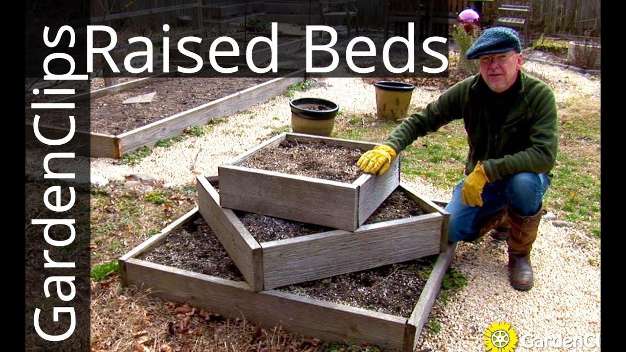 Raised Garden Beds - Easy raised vegetable garden bed ...