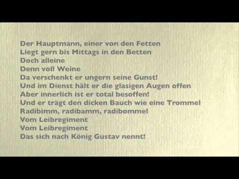 Das Leibregiment (Tucholsky 1923/24) - Gisela May