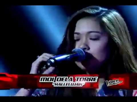 Moi Dela Torre 'Hallelujah' -Blind Audition - The Voice PH