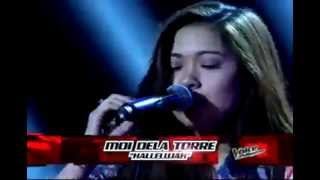 "Moi Dela Torre ""Hallelujah"" -Blind Audition - The Voice PH"
