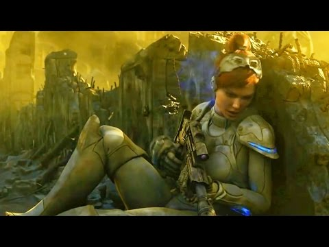 Sarah Kerrigan is Betrayed. Cinematic. Starcraft 2: Wing of Liberty. Trailer (Reformatted 16:9)
