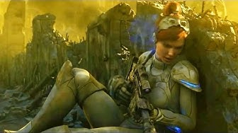 Sarah Kerrigan is Betrayed. Cinematic. Starcraft 2: Wing of Liberty. Trailer (Reformatted 16:9)